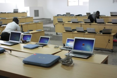 Computer Lab at Strathmore University